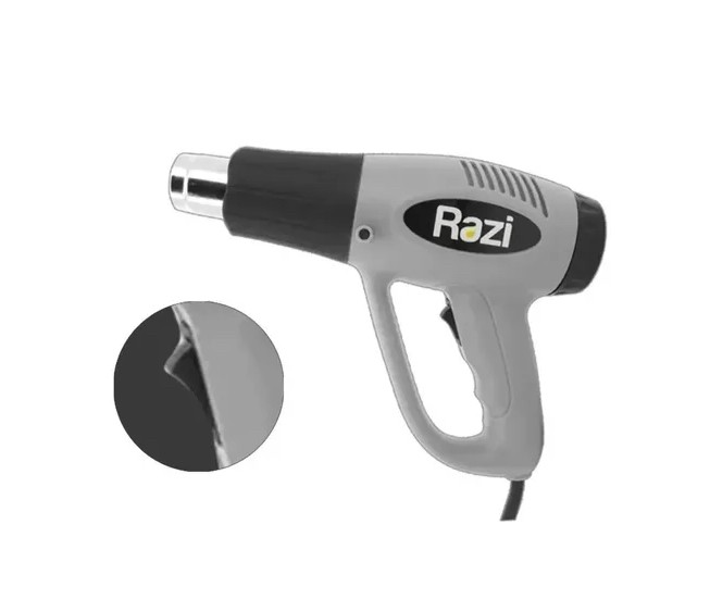 Soprador Térmico Ar Quente 1500/2000w 300 À 550°c Razi