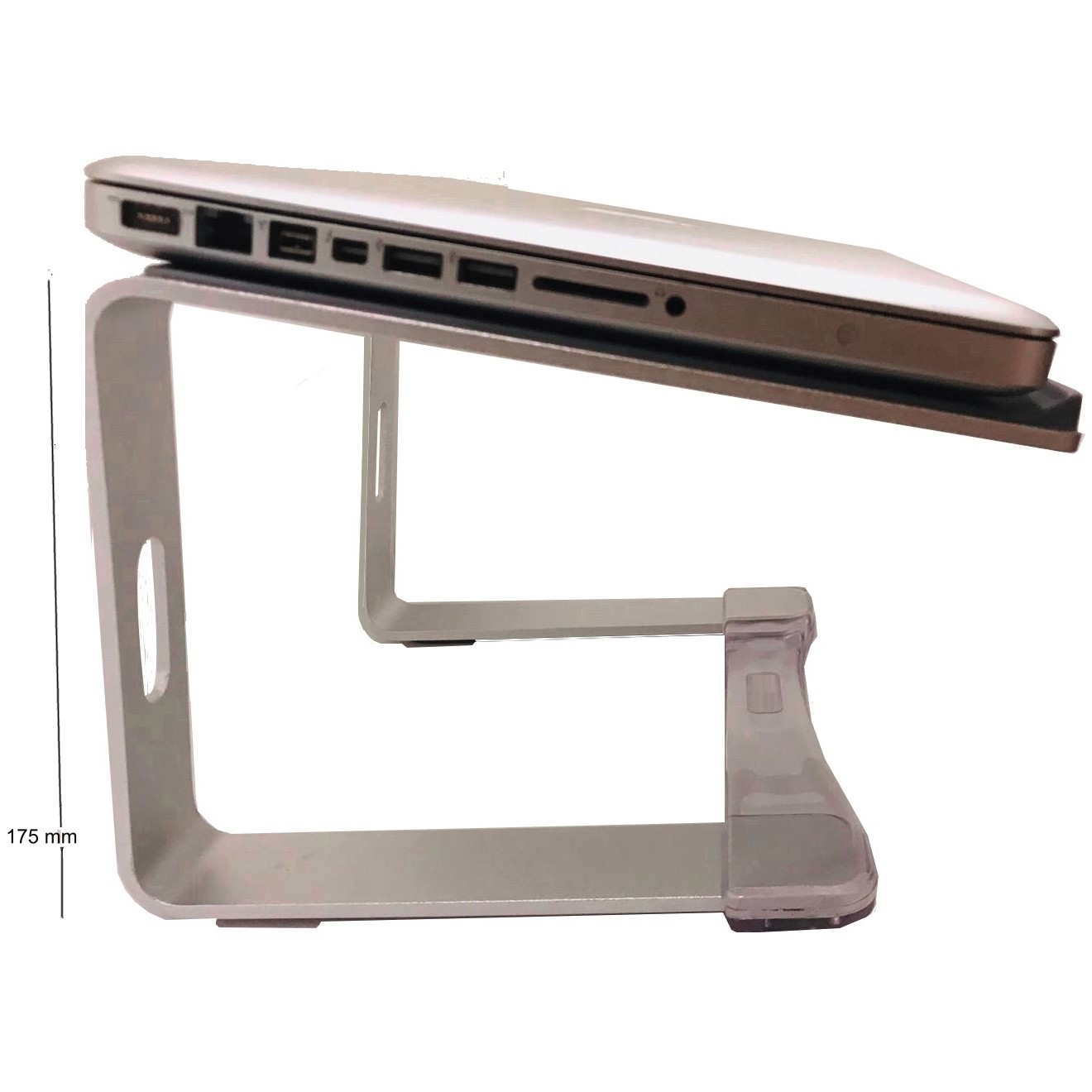 Suporte Elevado Aluminio Curv Higher + Alto 175mm s17