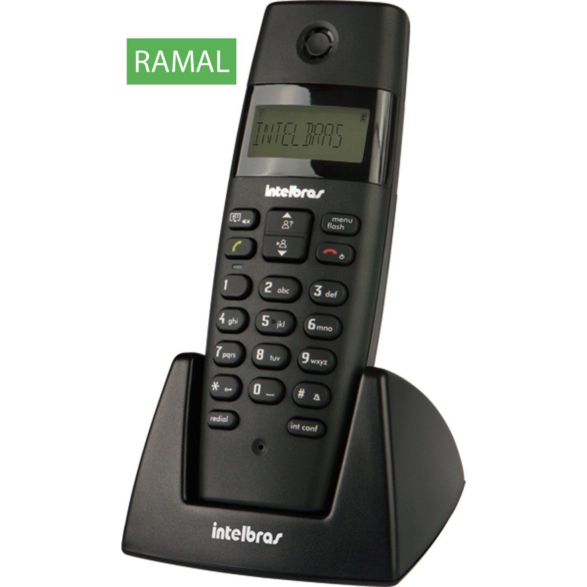 Telefone Ramal S/Fio Intelbras