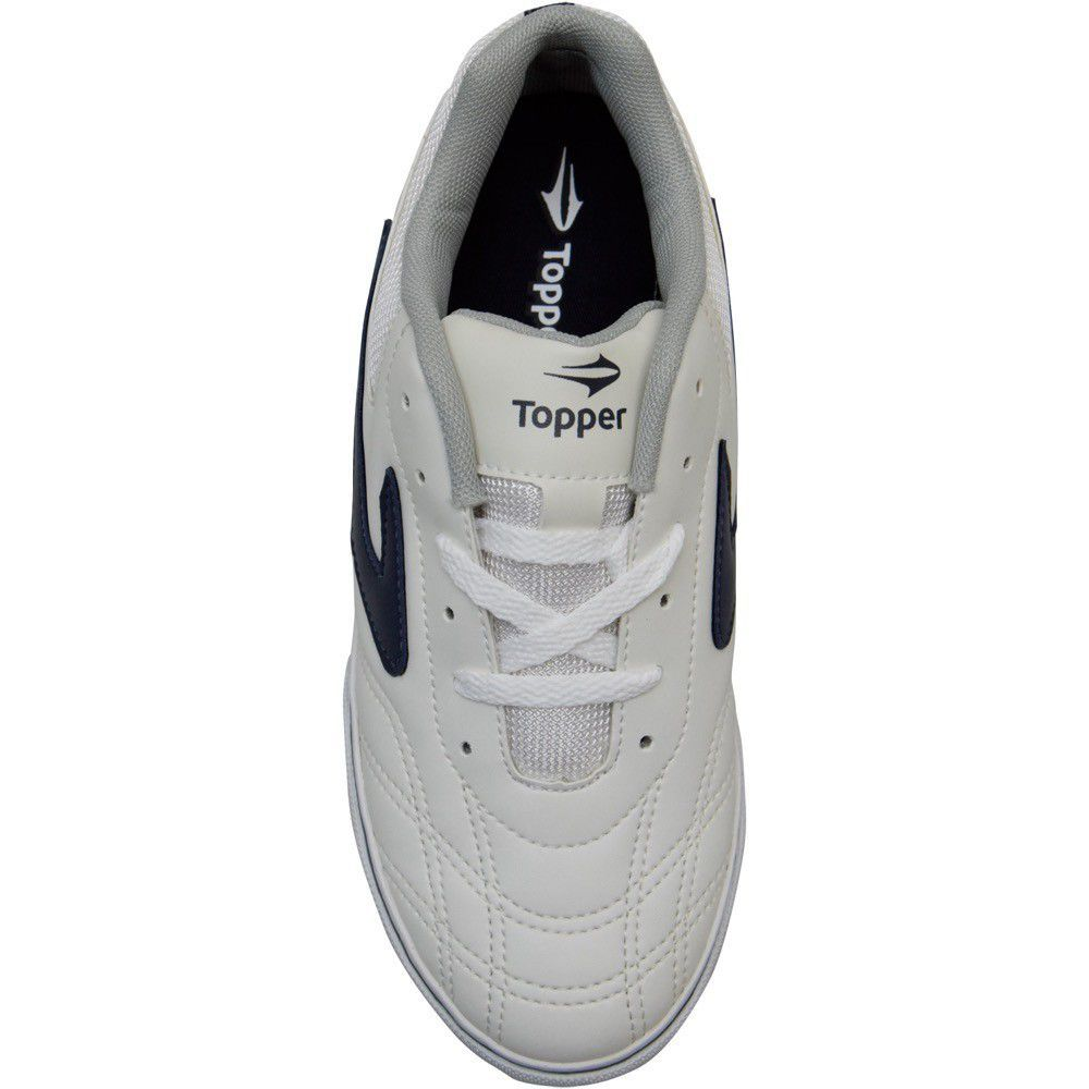 8bfd3694d8edc Tenis Futsal Dominator 37 Branco Topper Capa para Piscina, Lona ...