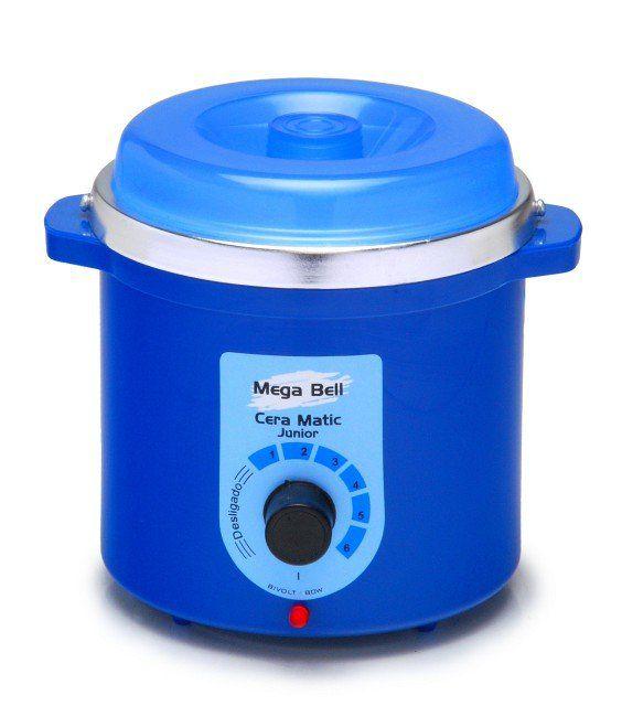Termocera Aquecedor de Cera Junior 400g  Bivolt - Com refil Corpo Azul