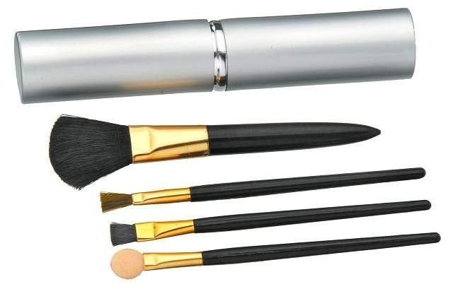 Kit para Maquiagem Luxo Contém 4 Peças