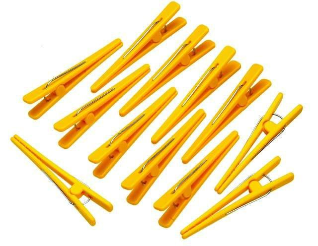 Clips Plástico com 12 Unidades