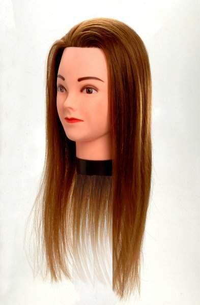 Cabeça de Boneca para Treino de Penteados e Corte com Suporte