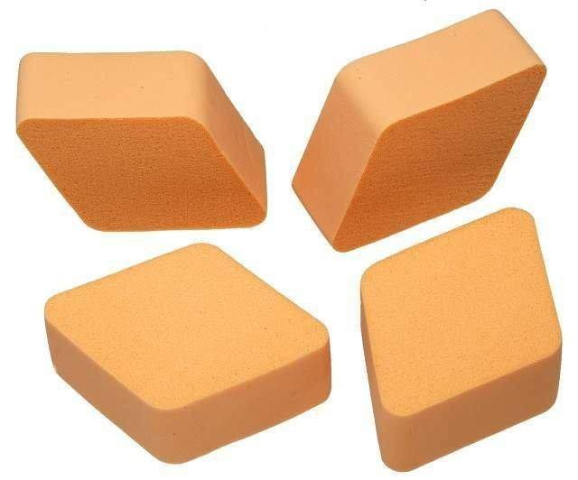Esponja para Maquiagem Modelo Losango - Importada