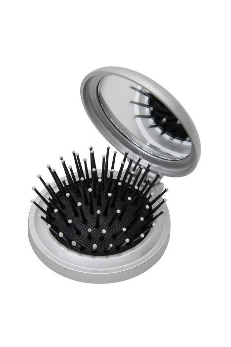 Escova com Espelho para Bolsa - Importada