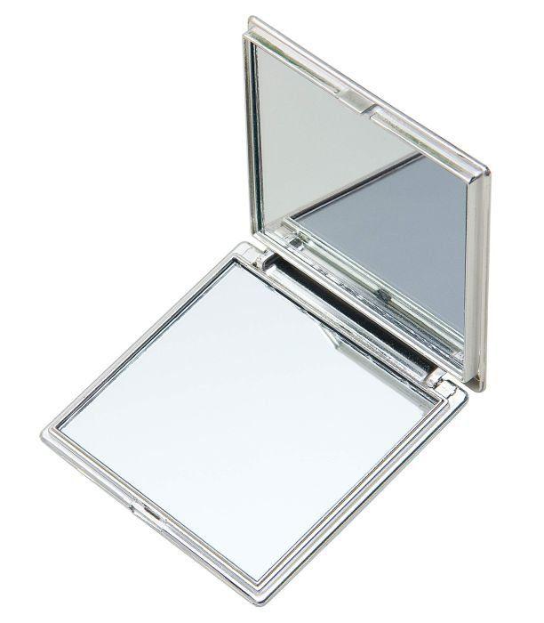 Espelho de Bolsa Duplo Quadrado - Importado