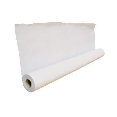 Papel Lençol Branco 100% Celulose Virgem Rolo 50 metros