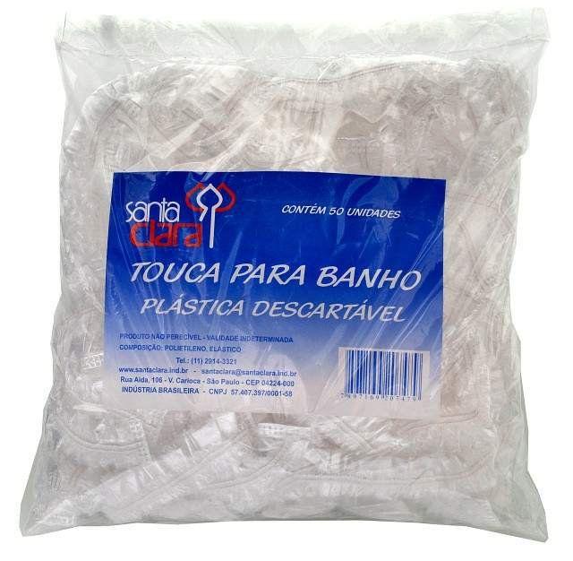 Touca Plástica para Banho Descartável