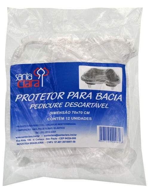 Protetor para Bacia de Pedicure Descartável