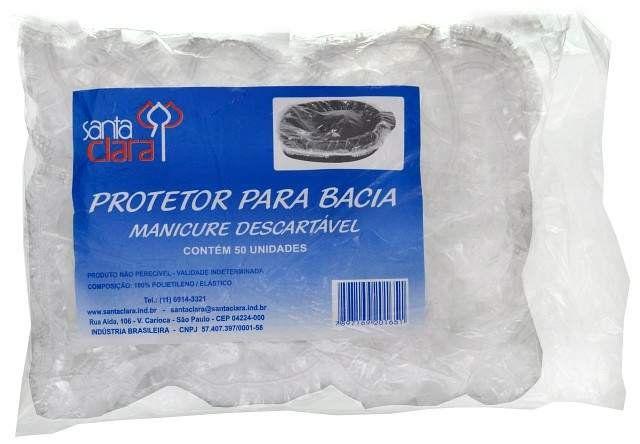 Protetor para Bacia de Manicure Descartável