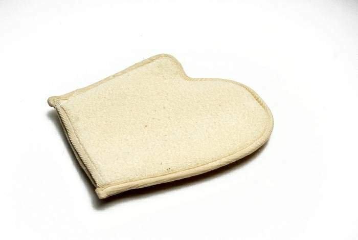 Luva para Banho Esfoliante Natural
