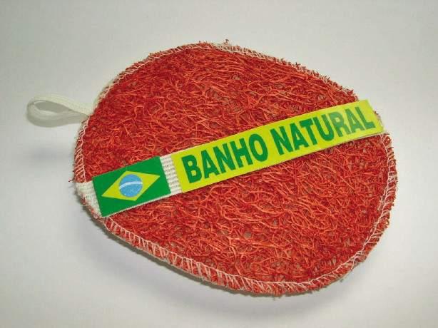 Bucha Vegetal Mista para Banho Colorida Natural