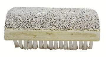 Escova para Unhas com Pedra Pomes