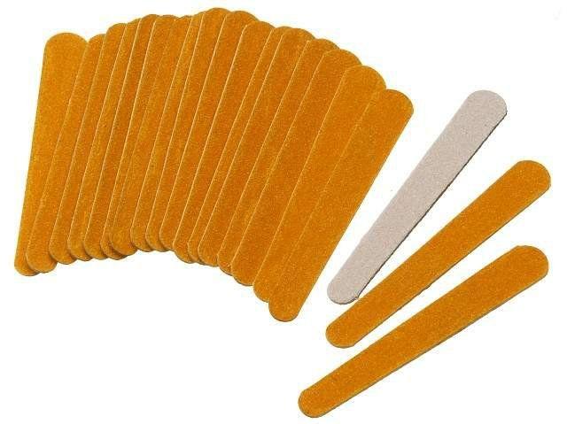 Mini Lixas para Unha Descartáveis 144 Unids Manicure - Santa Clara