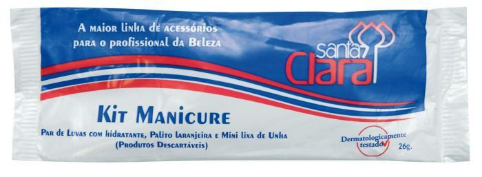 Kit Manicure Descartável - Luvas Higiênicas com Creme Amolecedor de Cutículas Hidratante