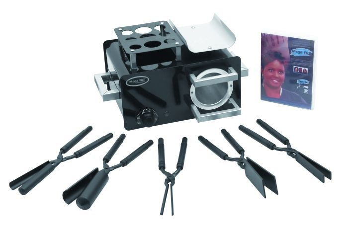 Forno Modelador Elétrico para Cachear e Alisar os Cabelos
