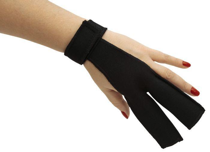 Protetor de Dedos para Uso de Prancha ou Chapinha