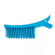 Clips Plástico Azul Com Pente Para Cabelo Santa Clara - 2 Unidades
