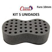 Esponja Twist Infinity Pequena Afro Nudred Kit com 05 Unids - Santa Clara