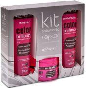 Kit Tratamento Capilar Color Brilliance Proteína Do Arroz - Mirra´s