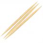 Palito De Bambu Com Duas Pontas Para Unhas 50 Unidades - Santa Clara