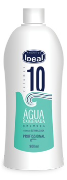 Água Oxigenada Cremosa 10 Volumes 900ml - Ideal