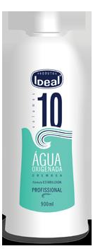 Água Oxigenada Cremosa 10 Volumes 900ml - Ideal