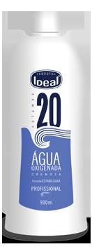 Água Oxigenada Cremosa 20 Volumes 900ml - Ideal