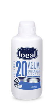 Água Oxigenada Cremosa 20 Volumes 90ml - Ideal