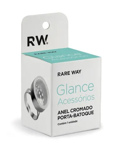 Anel Cromado Porta - Batoque - Rare Way