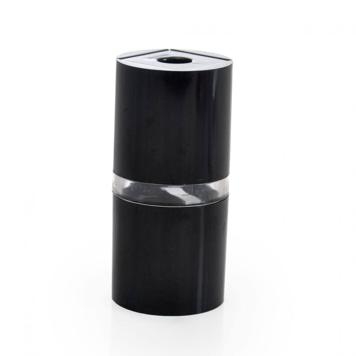 Apontador de Lápis Luxo Dois Orifícios Formato Cilindro