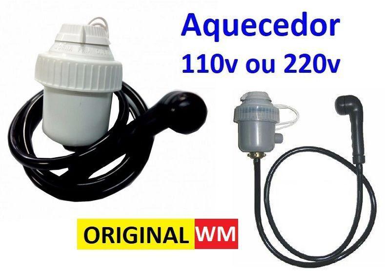 Aquecedor de Água 110v 220v WM para Lavatórios + Resistência Reserva ( Cabeleireiros - Salão de Beleza )