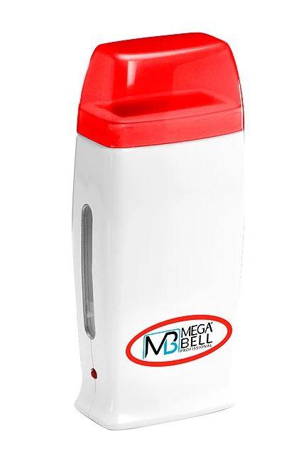 Aquecedor de Cera Roll-on Mega Bell - Branco e Vermelho