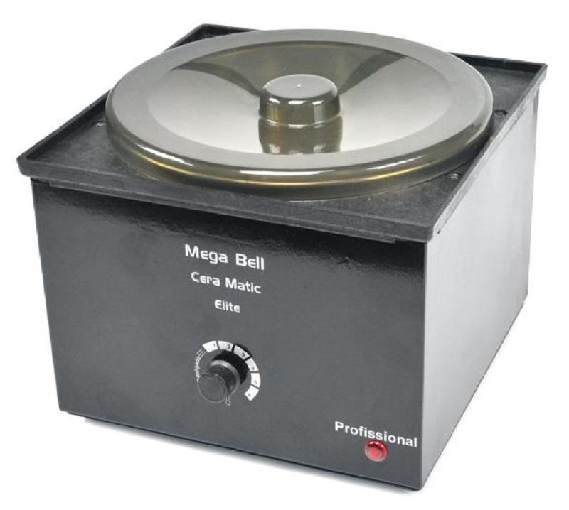 Aquecedor de Pedras Quentes e Termocera - 2,5 kgs Preta Sem Refil