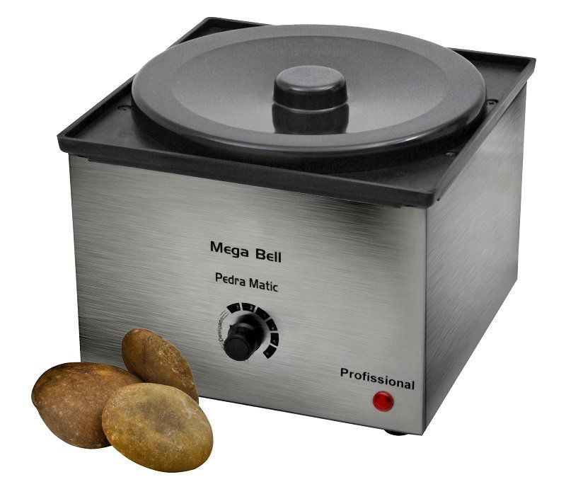 Aquecedor para Pedras Quentes  Profissional em Inox - 2,5kgs