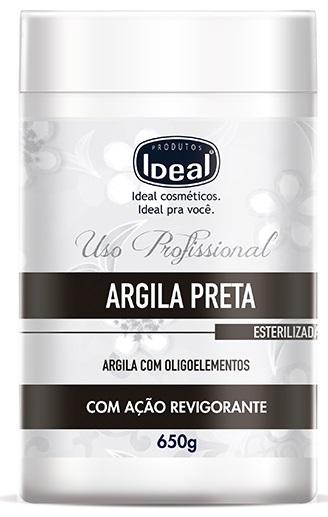 Argila Preta com Oligoelementos 650g - Ideal