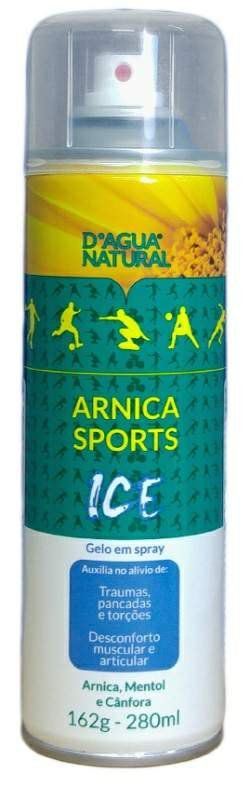 Spray Arnica Sports Ice – D'agua Natural