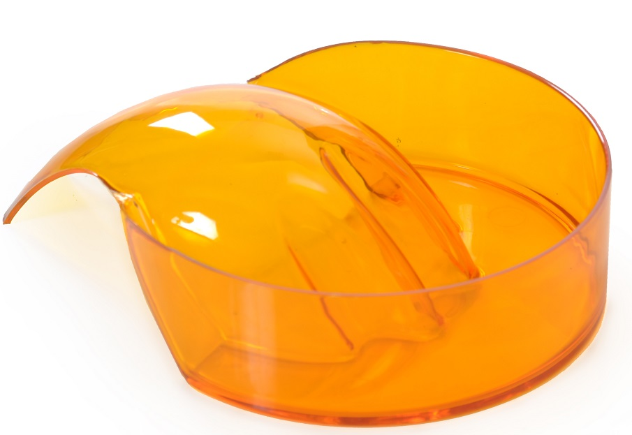 Bacia Para Manicure Translúcida Modelo Importado - Santa Clara