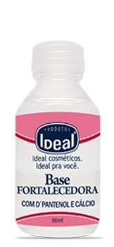 Base Fortalecedora para Unha com D Pantenol e Calcio - Ideal 60ml