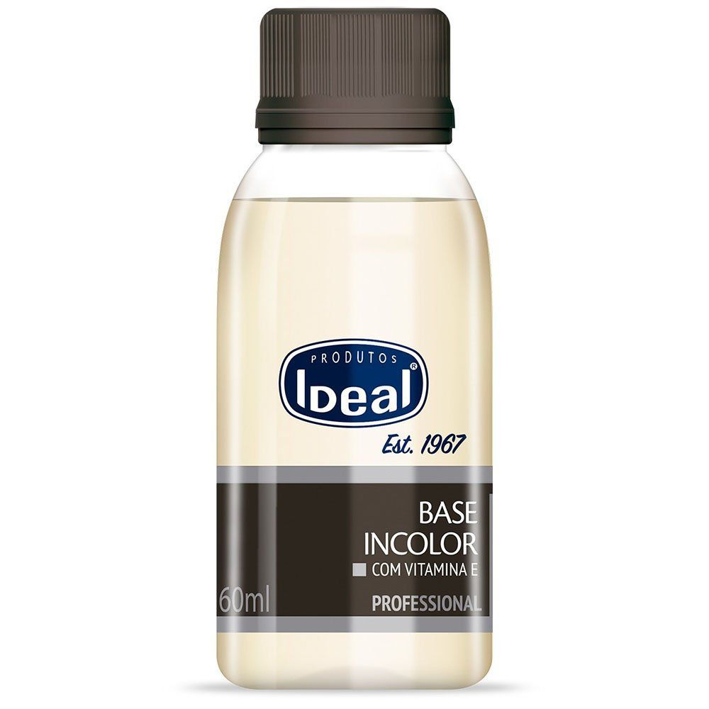 Base Incolor Ideal com Vitamina E - Ideal 60ml