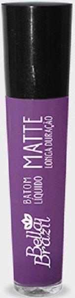 Batom Líquido Matte longa duração Cor 02 - Bella Brazil