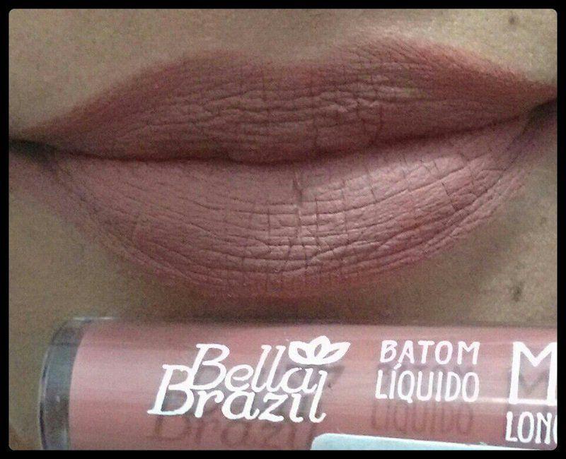 Batom Líquido Matte longa duração Cor 15 - Bella Brazil