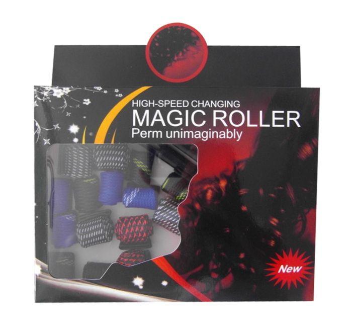 Bob Mágico para cachear os cabelos Magic Roller com 18 unidades