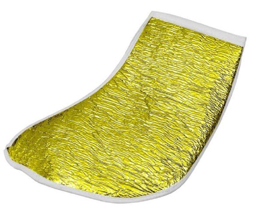 Bota Metalizada Dourada com Isolmanta - Par
