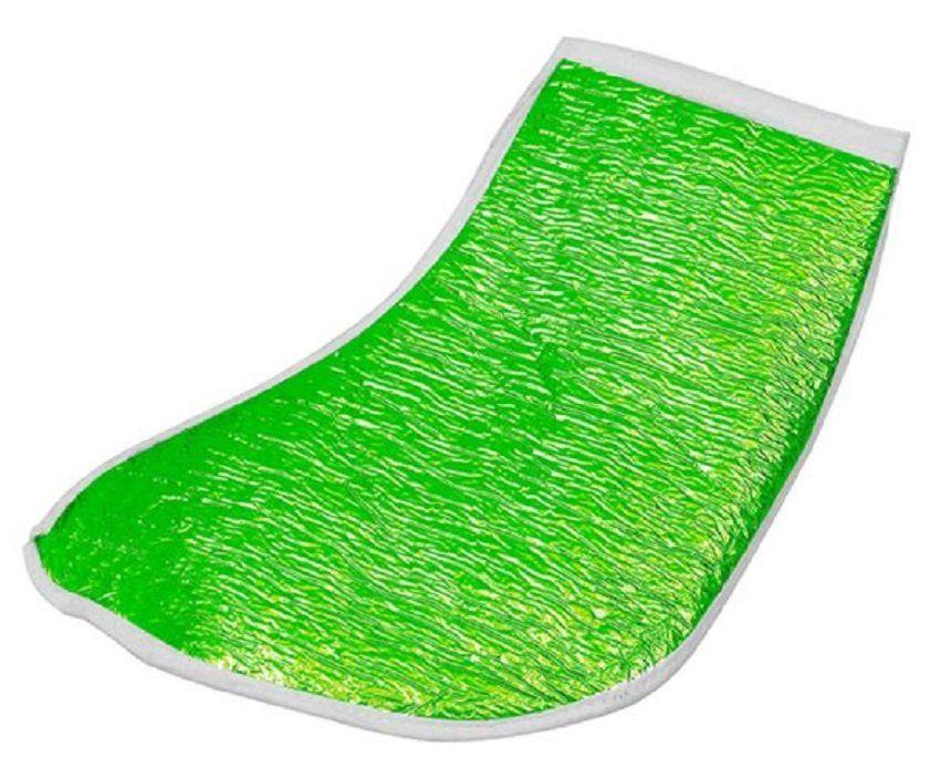 Bota Metalizada Verde com Isolmanta - Par