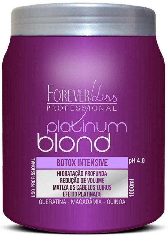 Botox Intensive Matizador Platinum Blond 1kg - Forever Liss