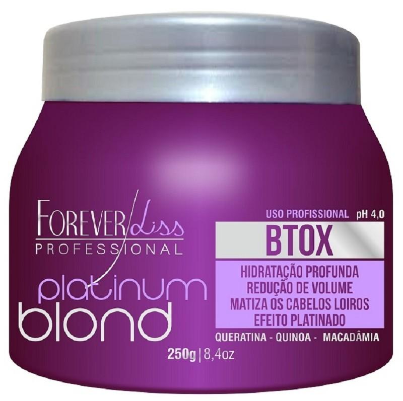 Botox Intensive Matizador Platinum Blond 250gr - Forever Liss