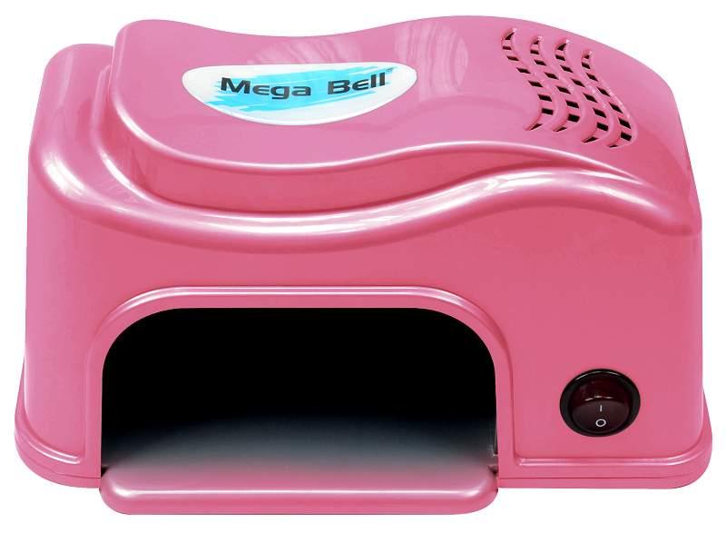 Cabine LED Compact Para Unhas de Gel e Acrigel - Mega Bell Pink