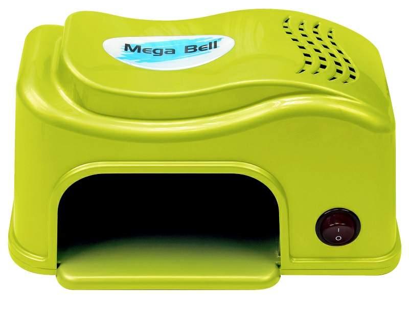 Cabine LED Compact Para Unhas de Gel e Acrigel - Mega Bell Verde Limão